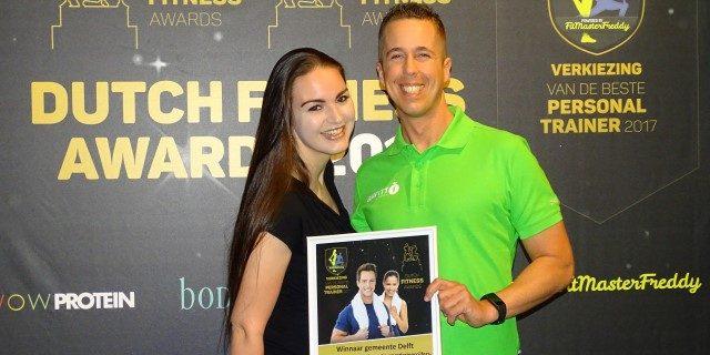 Onze Bart Megler uitgeroepen tot beste Personal Trainer 2