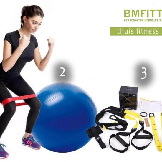 BMFITT Thuis Fitness Set 1