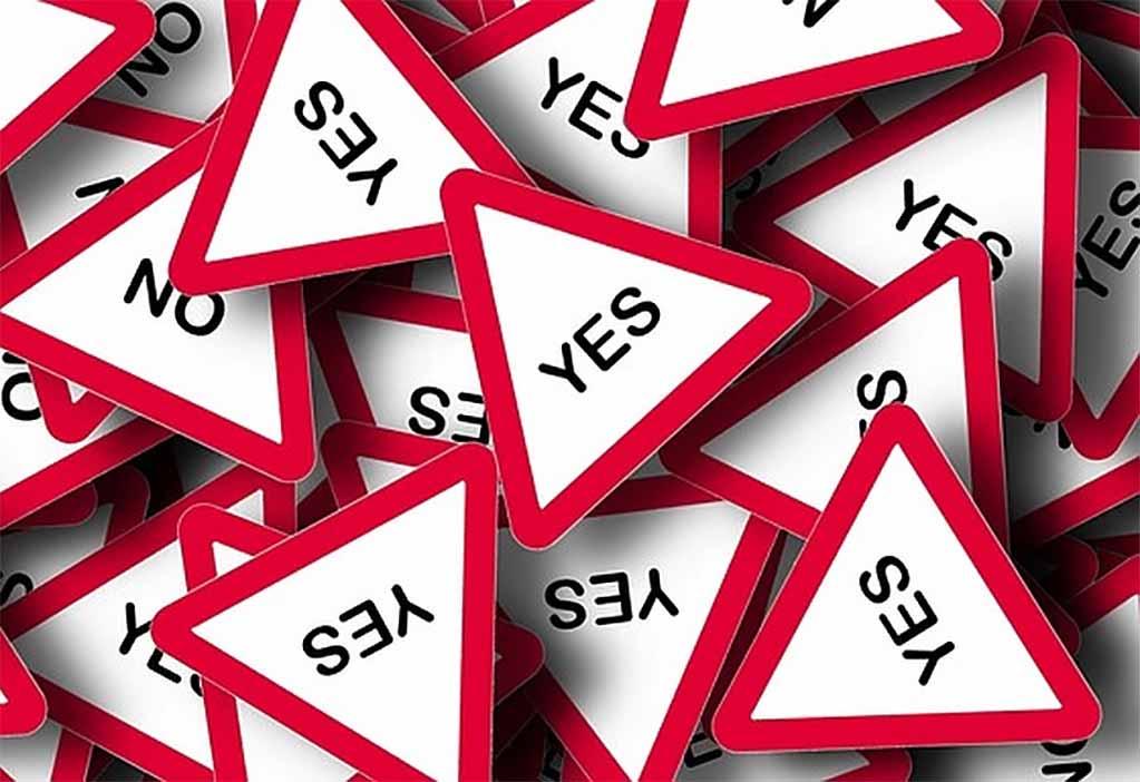 Stop met ja zeggen en nee doen