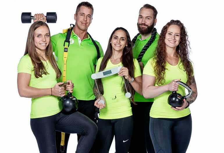 personal trainer delft team